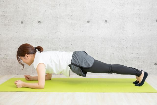 体幹トレーニング何分できるようになった?